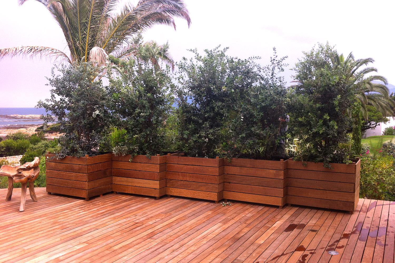 L 39 le verte r alisations for Amenagement jardiniere exterieure